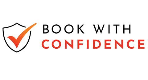 Book With Confidence Logo